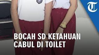 2 Murid Kelas 1 SD Kepergok Sang Guru Sedang Berbuat Mesum di Toilet Sekolah