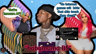 Ari & Moneybagg's BM Juiccy GO @ it🥊after Ari gets UNINVITED 2️⃣ Bagg's Dallas Show B/C of her!!?✈️🛑