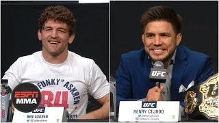 Ben Askren, Henry Cejudo and the best of the UFC Seasonal Press Conference | ESPN MMA