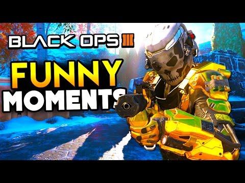 Black ops 3 funny moments - crazy silo shot, killcams