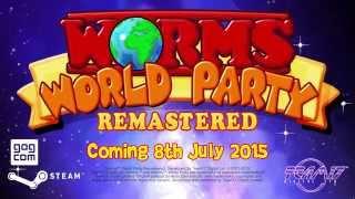 Компьютерные и консольные игры, Worms World Party Remastered trailer (2015)