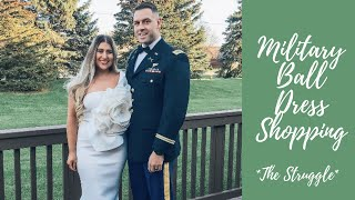 Army Wife Life: MILITARY BALL Dress Shopping... *THE STRUGGLE*
