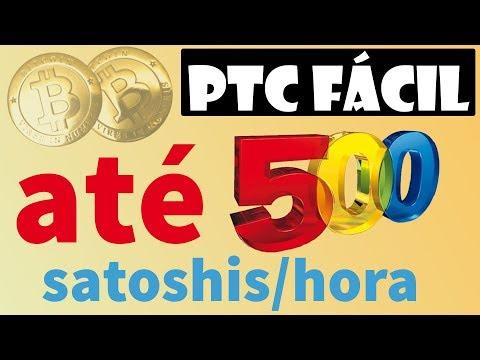 PTC pagando até 500 satoshis btc por hora! Facinho de fazer! CONFIRA!!!