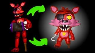 Rockstar Foxy Custom POP! (Tutorial/Speedpaint)