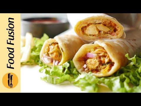 Chicken Egg Paratha Roll Recipe
