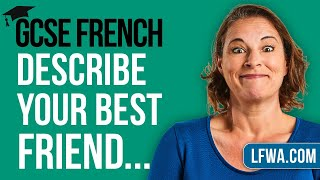 GCSE French Speaking: Describe your best friend