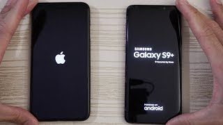 iPhone XS Max vs Samsung S9 Plus - Speed Test! Which is Faster?