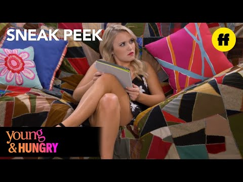 Young & Hungry | Season 5, Episode 6 Sneak Peek: Sofia Brings Home Ugly Couch | Freeform