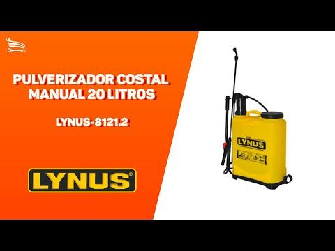 Pulverizador Costal Manual 20 Litros PL-20 - Video