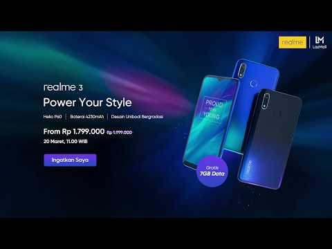 Realme 3 | Power Your Style