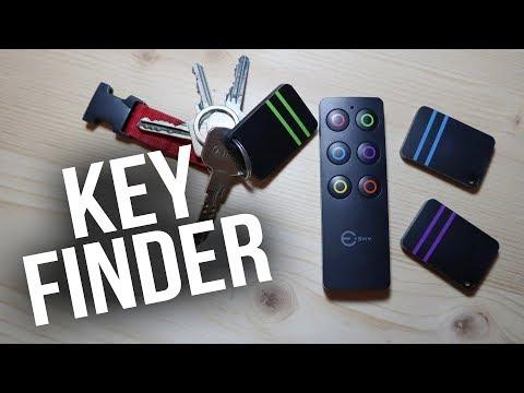 Esky Schlüsselfinder Wireless Key Finder mit 6 Empfängern RF Item Locator