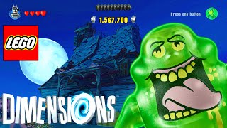 Slimer Zane and Scooby Doo's Haunted House - LEGO Dimensions