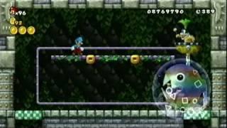 New Super Mario Bros U Part 14 Morton S Compactor Castle