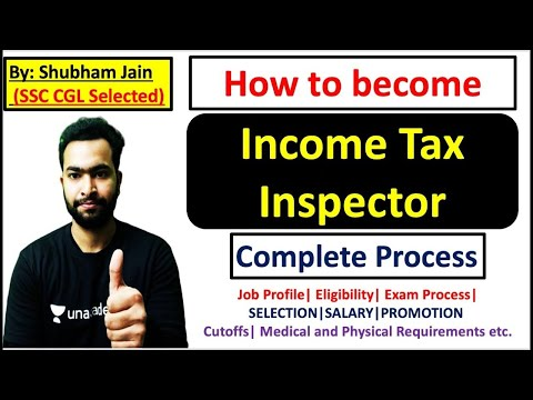 How to become Income Tax Inspector | Exam Process ... - YouTube
