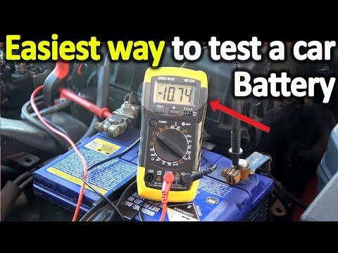 How to Test a Car Battery With a Multimeter ( Voltage + Cold Cranking Amps)