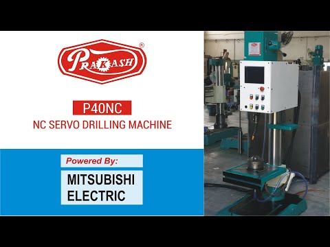 PLC Automatic Drilling Machine