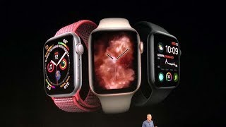 Apple Watch Series 4 launched with new health features   Apple Launch Event