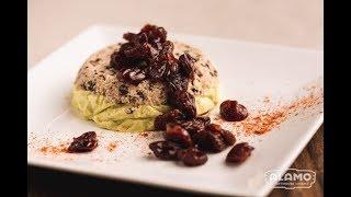 INGRID GOES WEST Menu | Dessert D'or & Triple Chocolate Shake | Aubrey Plaza, Elizabeth Olsen