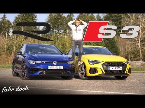 GEIL, aber 68.000 Euro WERT? VW GOLF 8 R vs AUDI S3 Sportback |  Vergleich | Fahr doch