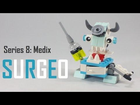 Vidéo LEGO Mixels 41569 : Surgeo