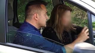 Kobieta nie zauważyła, że ktoś ukradł jej samochód? [Złodzieje]