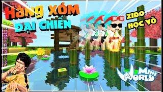 Mini World : Hàng xóm đại chiến tập 2 : Phong Cận học võ trả thù hàng xóm Rein   Phong Cận tv