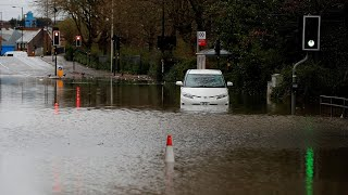Storm Dennis: Hundreds of flood warnings remain after weekend of chaos