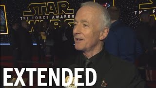 Anthony Daniels On How He Found C-3PO's Voice In 'Star Wars' | EXTENDED