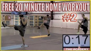 FREE Home MMA Workout Part 2 - P90X INSANITY by fightTIPS