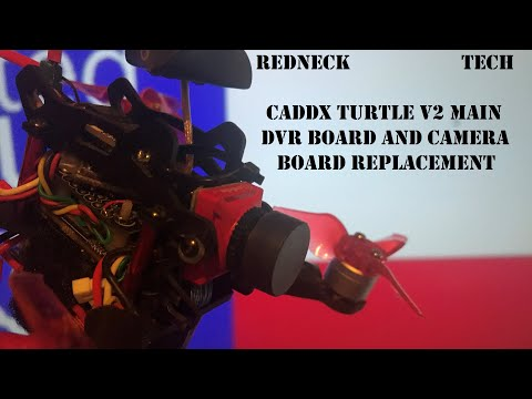Redneck Tech - Caddx Turtle V2 DVR Board Replacement