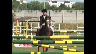 2014-07-21 г. Брест Телекомпания  Буг-ТВ. Олимпийские дни молодежи по конному спорту