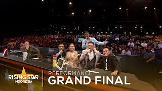 Medley Kahitna All Song's | Grand Final | Rising Star Indonesia 2019
