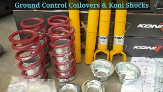Best Coilovers & Shocks for Your Honda (Koni / Ground Control 1989 Honda Civic EF Sedan)