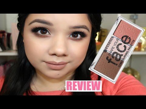 Essence Shape Your Face Contouring Palette | Review + Demo