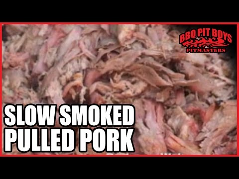 Slow Smoked Pulled Pork Barbecue Recipe by the BBQ Pit Boys | BBQ ...