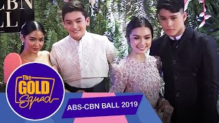 THE GOLD SQUAD WALKS THE ABS-CBN BALL RED CARPET | The Gold Squad
