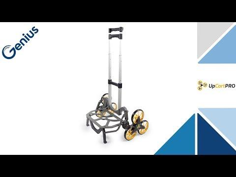 Genius UpCart Pro Aluminium-Treppensteiger   Sackkarre   Einkaufstrolley   klappbar