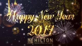 Happy New Year from Hilton!