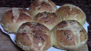 PAN CASERO FORMA DE MARGARITA | recetas de cocina faciles rapidas y economicas de hacer - comidas