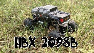 [Unboxing - Test] HBX 2098B 1/24 4WD Mini RC Climber / Crawler Metallgehäuse