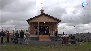 В новом храме на улице Псковская начались службы