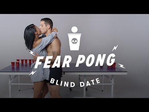 Blind Dates Play Fear Pong - Ella vs. Carlos