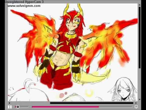 [KK] Speed Paint 3 : Otos(OC) in Pixiv Chat (Mouse)