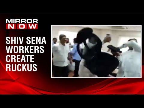 Shiv Sena workers vandalise Mayor's office in Thane's Mira-Bhayander office