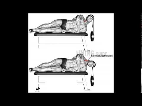 lying weighted lateral neck flexion 990x925
