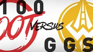100 vs. GGS - Week 7 Day 2 | NA LCS Summer Split | 100 Thieves vs. Golden Guardians(2018)