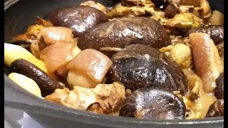 冬菇炆蠔豉 / 阿爹教路 / 加豬展 ? 【20無限】 Dry Mushrooms and Oysters