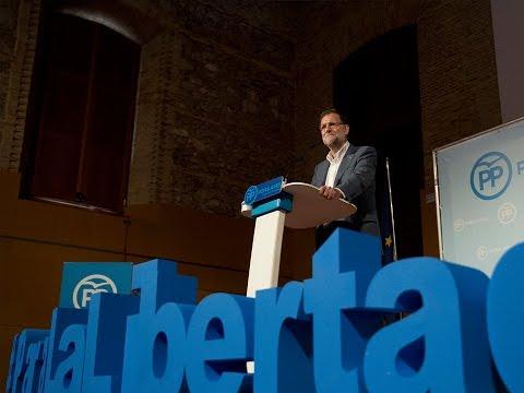 """Rajoy: """"El 20D está en juego la recuperación o volver a la crisis"""""""
