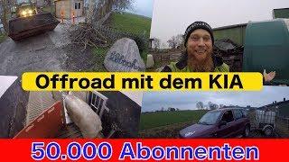 FarmVLOG#173 - Offroad mit dem Kia - 50.000 Abos