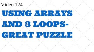 Download Youtube: Learn Excel Video 124 VBA-Export data - Arrays loops-Must Watch